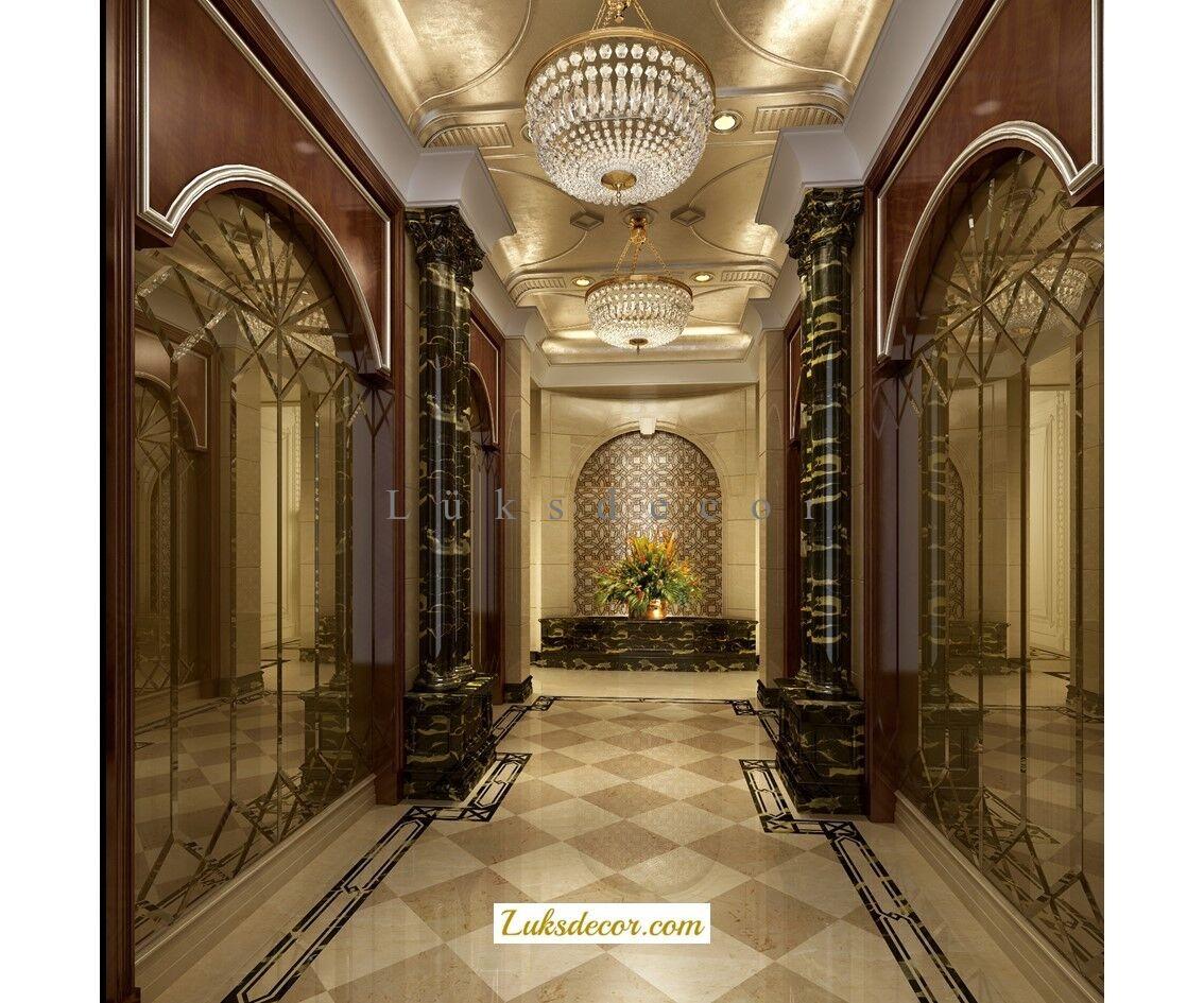 Premier Otel Hol Dekorasyon-Hotel Hol Decoration