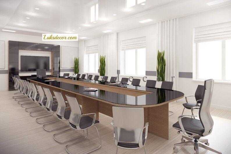 Long Oval Camlı Toplantı Masası_fot 61   (7)