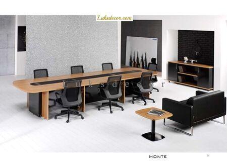 Montehan Oval Toplantı Masası