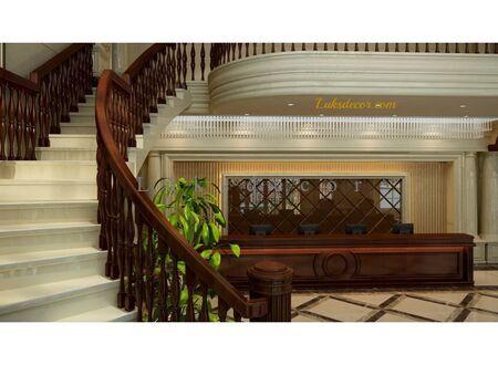Flora Otel Resepsiyon Dekorasyonu