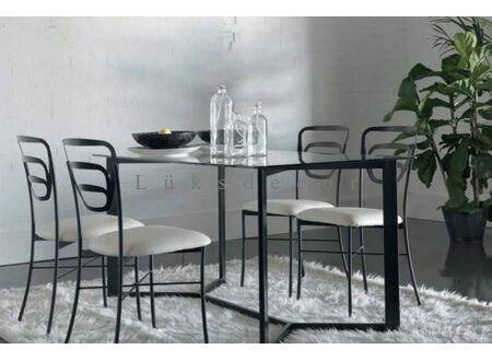 Asrada Metal Masa Sandalye Takımı