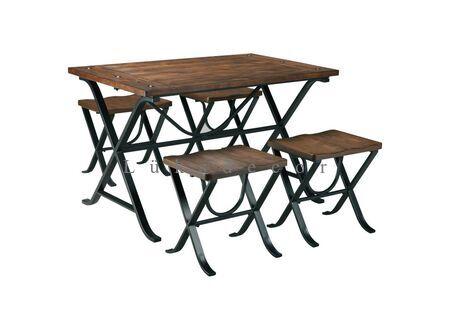 Foks Metal Masa Sandalye Takımı