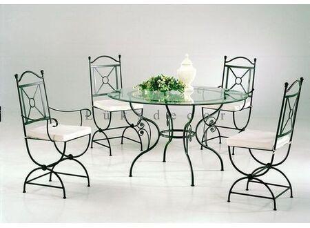 Zara Metal Masa Sandalye Takımı